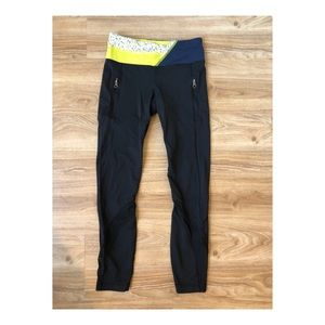 Lululemon 7/8 length luxtreme run pant